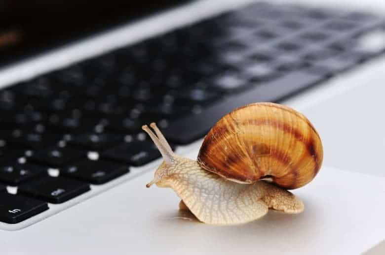 5 reasons of a slow internet